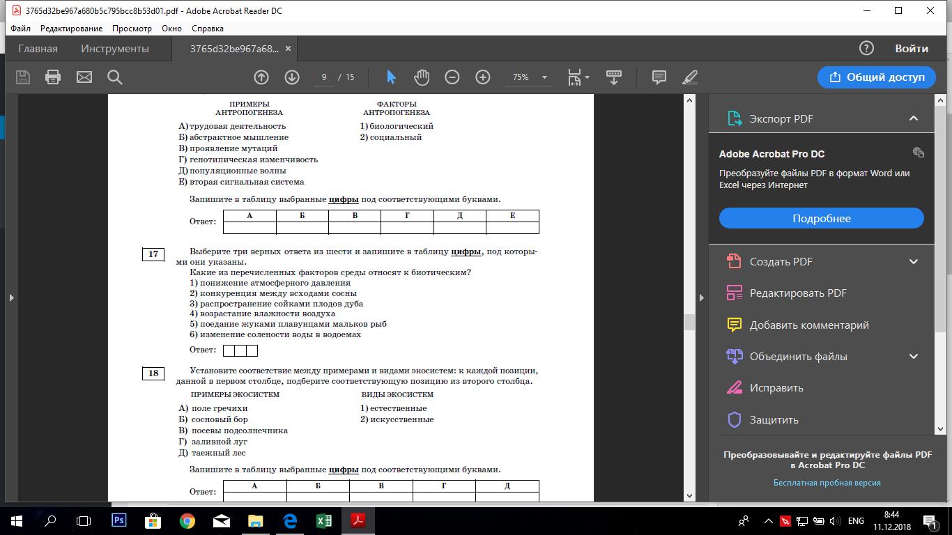 Вводный урок по Adobe Acrobat Reader DC Часть2